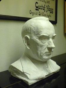 Anton-Almquist-gipshuvud-Thora-Bjurklo-1934