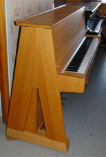 A-piano Georg Bolin ca 1960 (KH 129)