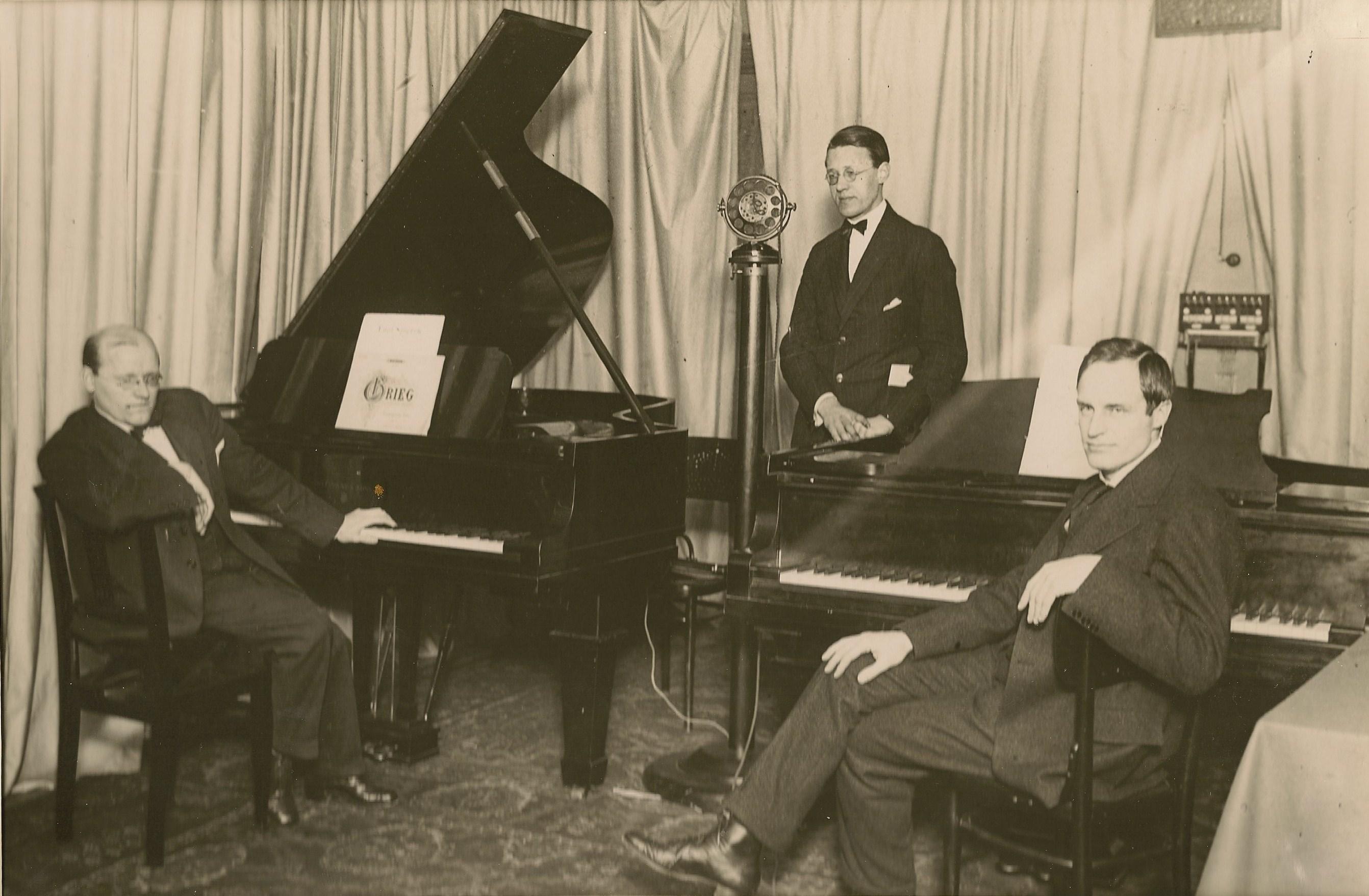 Jerring, Broman, Haquinius 1924 - start