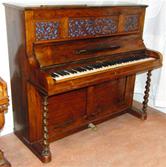 Pianino Johan Henrik Löwendahl & Co ca. 1860 (KH 254)