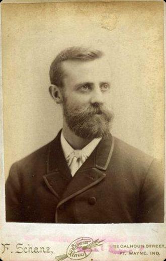 Porträtt av Henry Nelson från hans amerikatid.