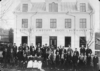 Östlind & Almquists personal 1896.