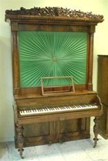 Kabinettpiano Pehr Rosenwall 1845-1850 (KH 373)