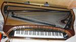 Ramkonstruktionen hos Schulzes taffel. Omvända tafflar har wienermekanik, så även Schulzes som är 20 år yngre än Ekstedts.